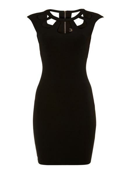 Lipsy Kardashian Cut Out Bodycon Dress