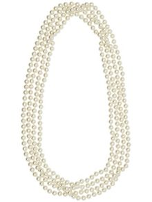 Maddie long pearl necklace
