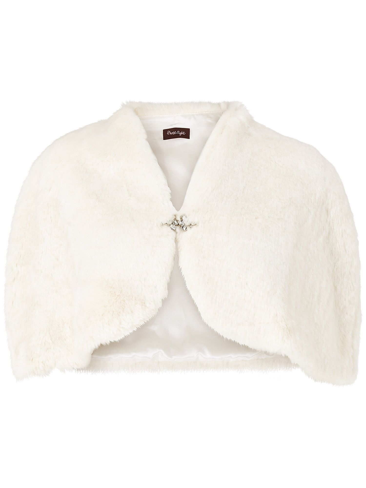 Elena faux fur cape