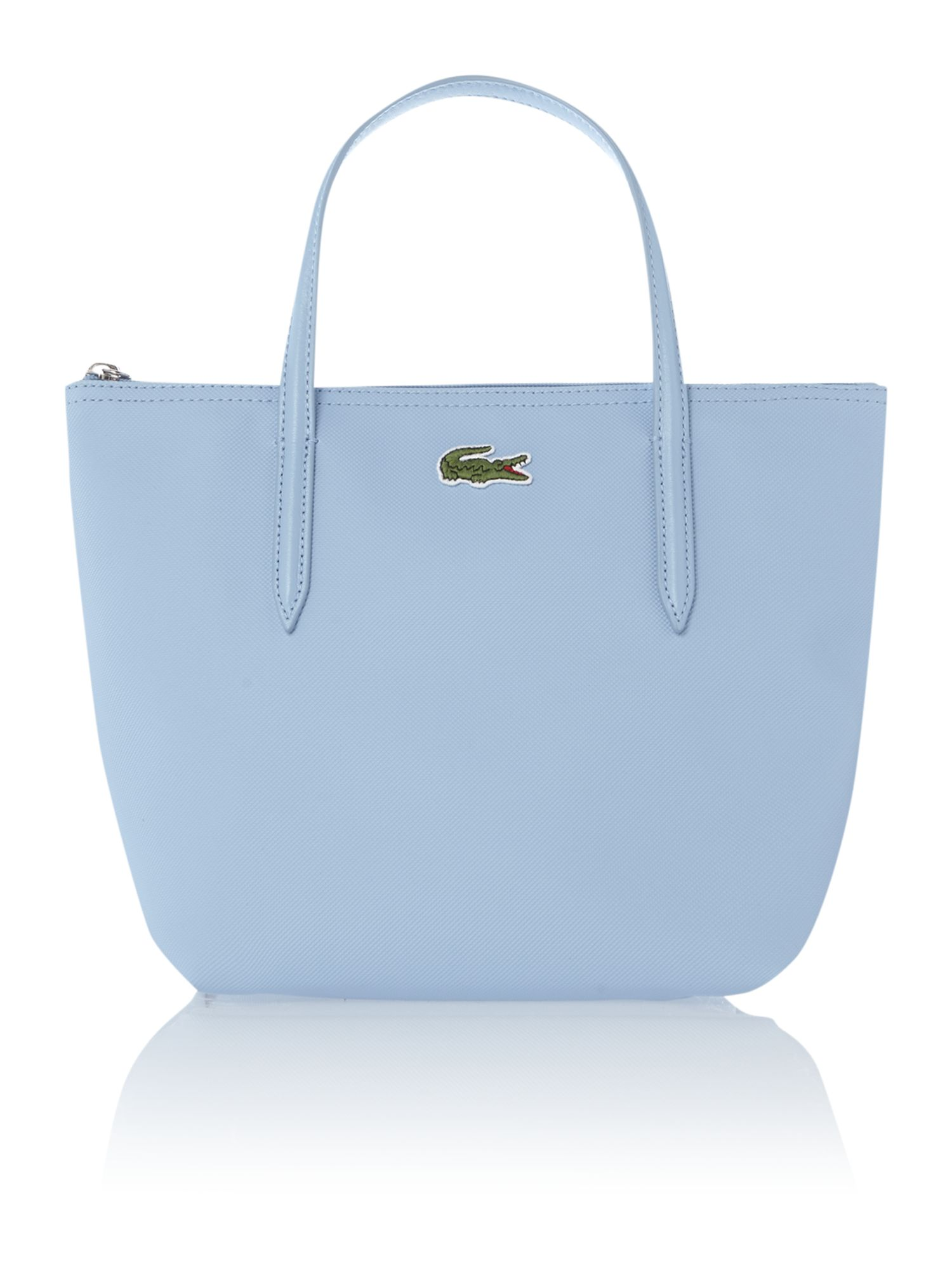 Blue small tote bag