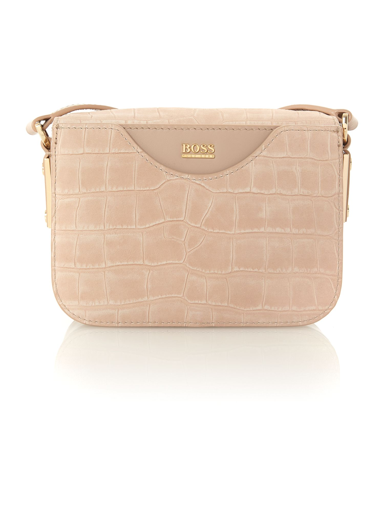Mila pink snake cross body