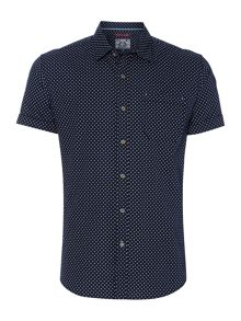 Beacon geo print shirt