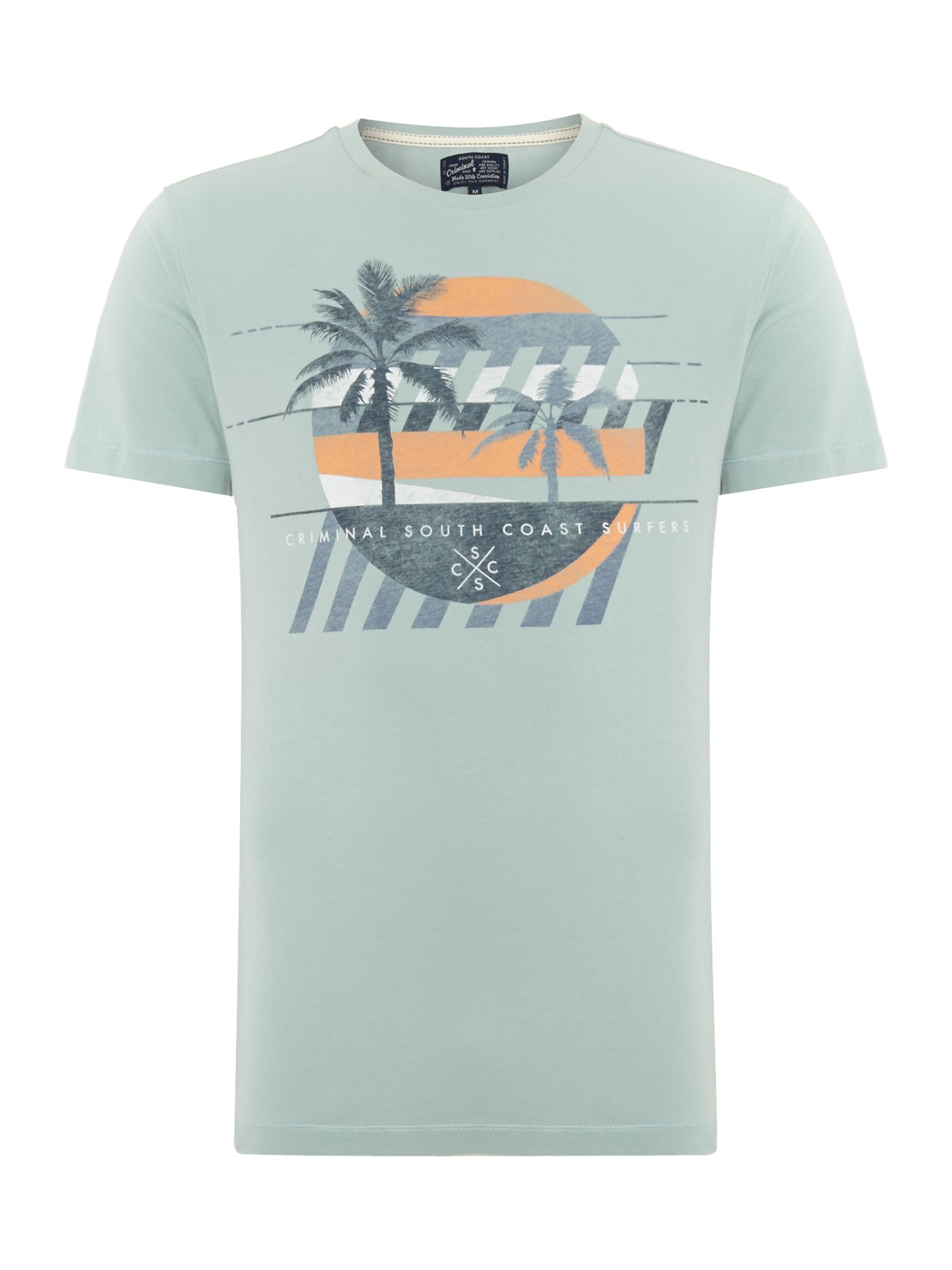 south coast graphic tee