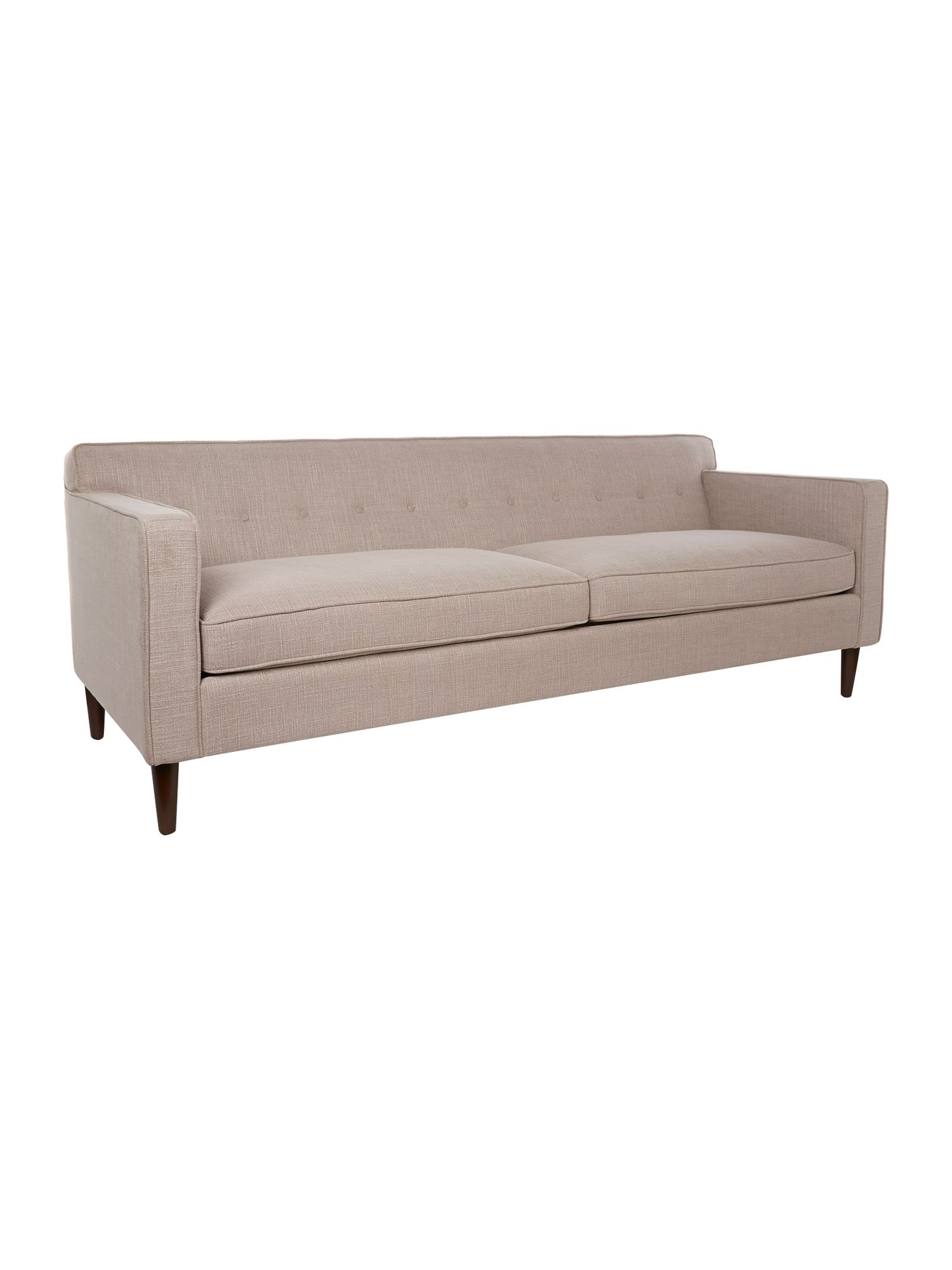 Aurelia rose 3 seater sofa