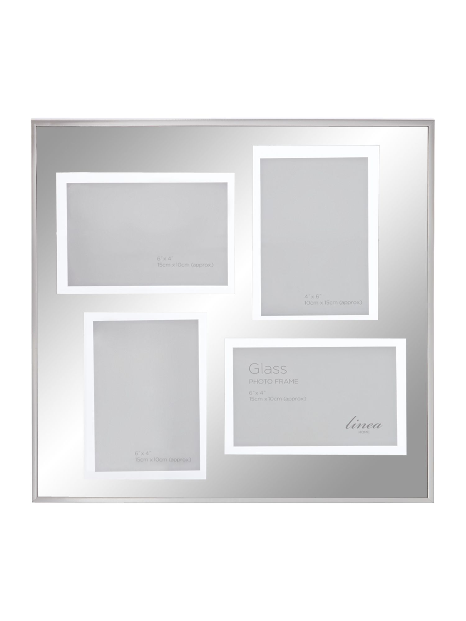 Chrome Marco multi aperture photo frame