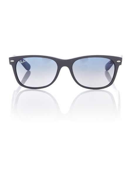 Ray-Ban Men`s polar blue gradient grey square sunglasses