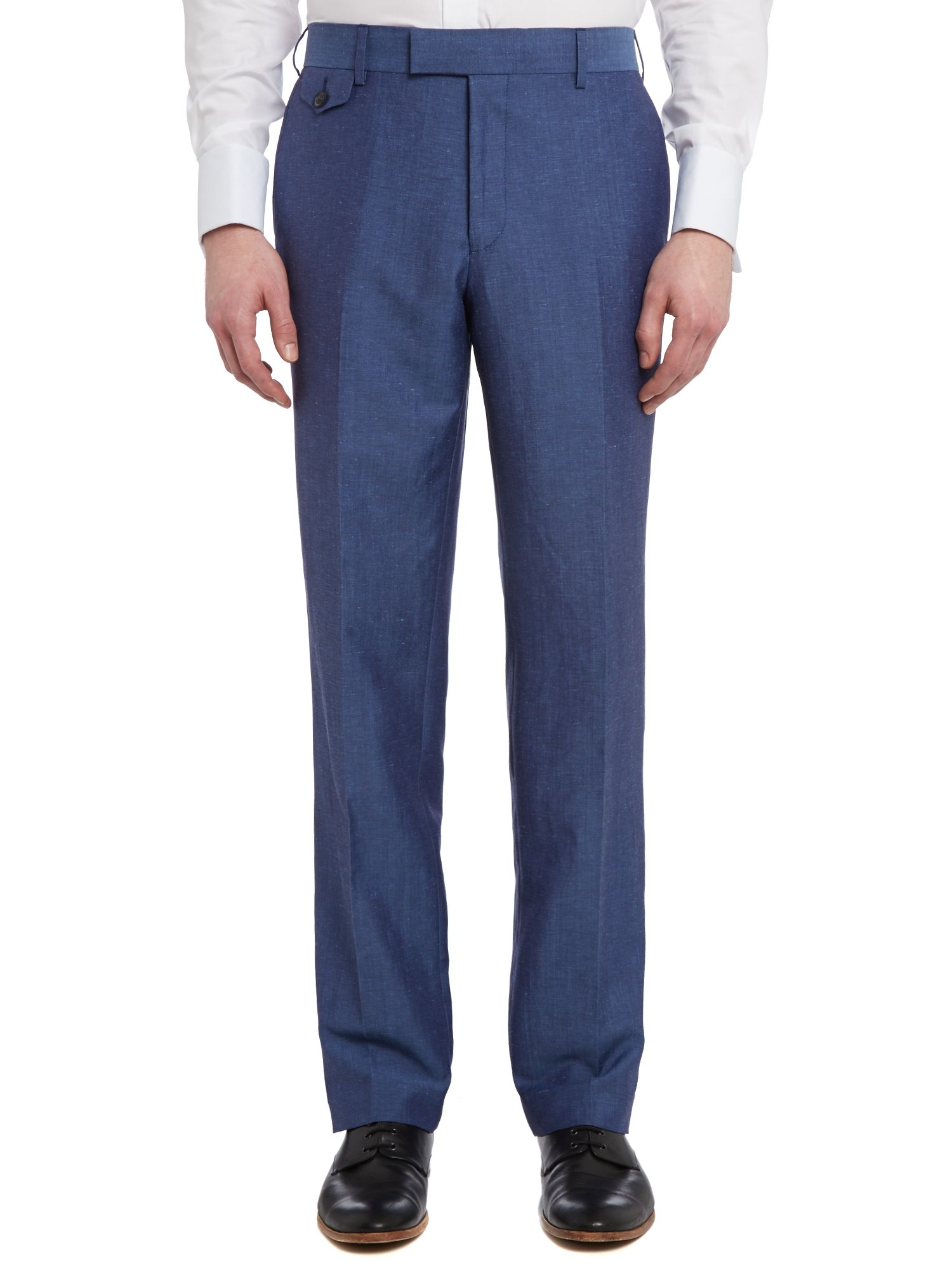 Sigatro sterling regular fit linen mix trouser