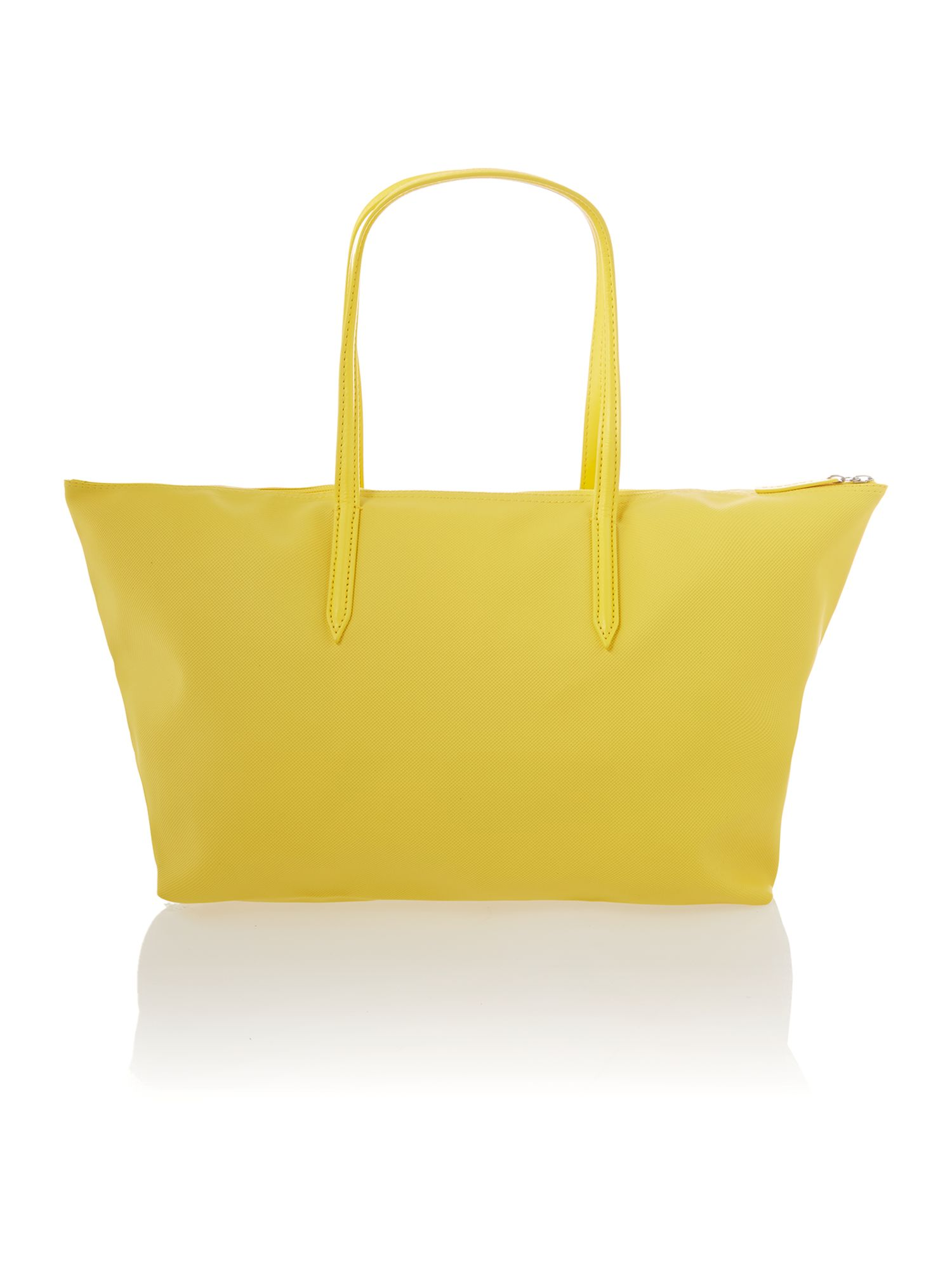 Yellow tote bag