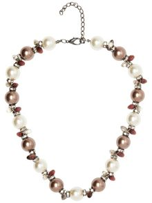 Sally sparkle pearl necklace