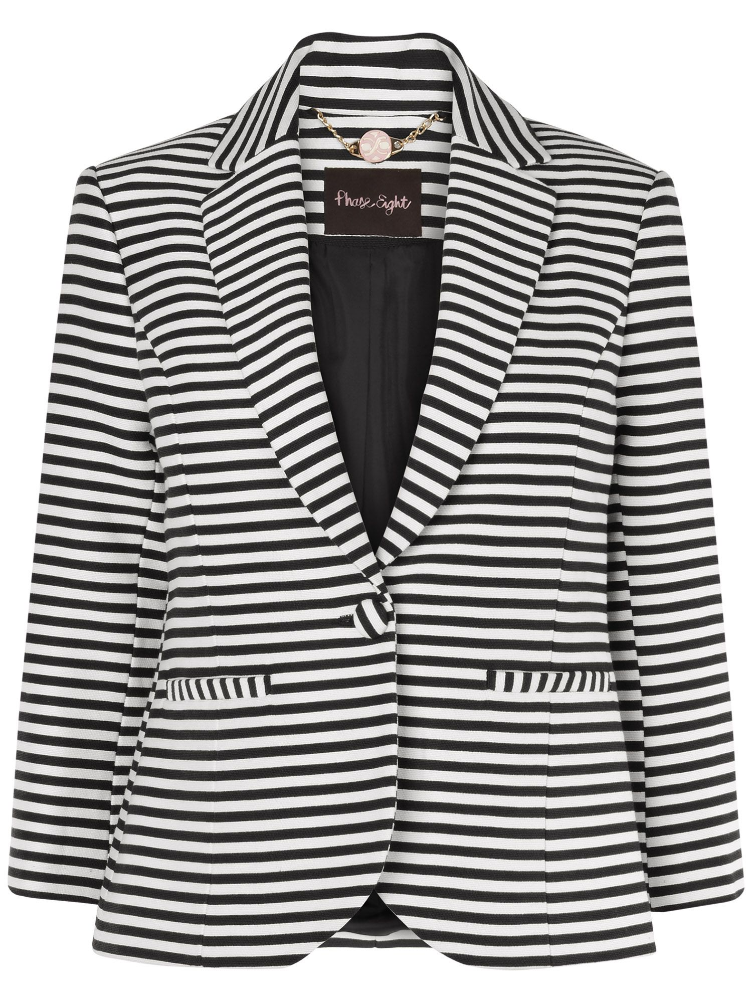 Miranda stripe jacket