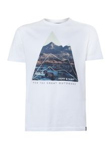 Mountain photo tee