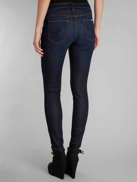 Hudson Jeans Nico super skinny jeans in London Calling