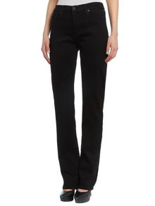 Hudson Jeans Tilda cigarette straight jeans in Black
