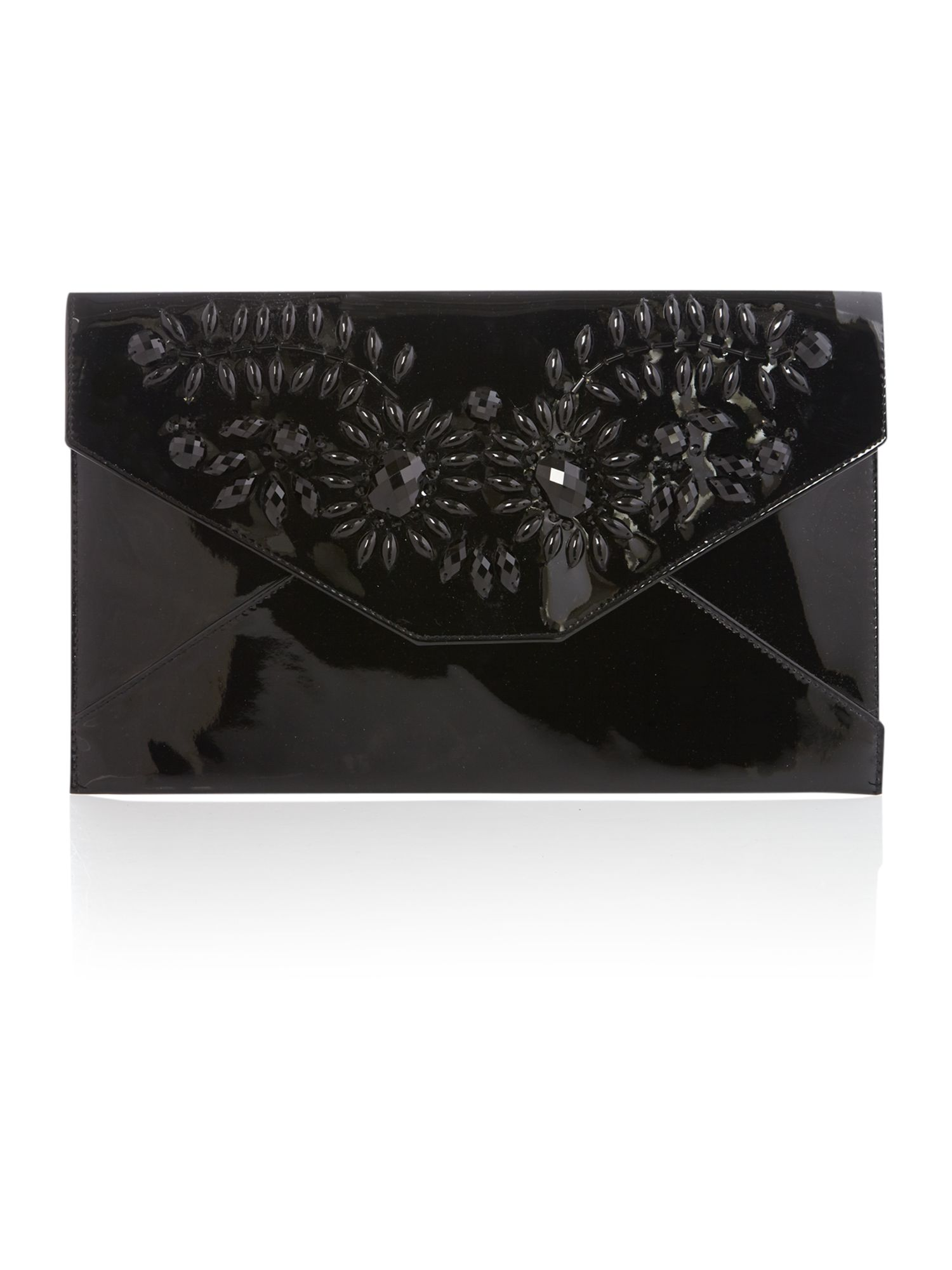 Jenna jewel clutch bag