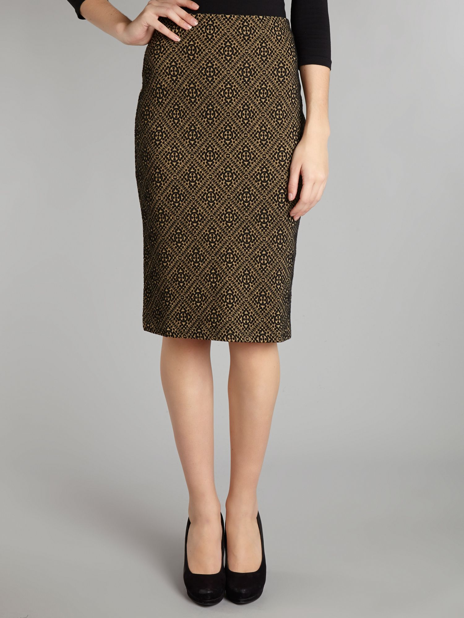 Rosati high waisted pencil skirt