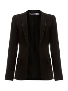 Roberta structured pocket blazer