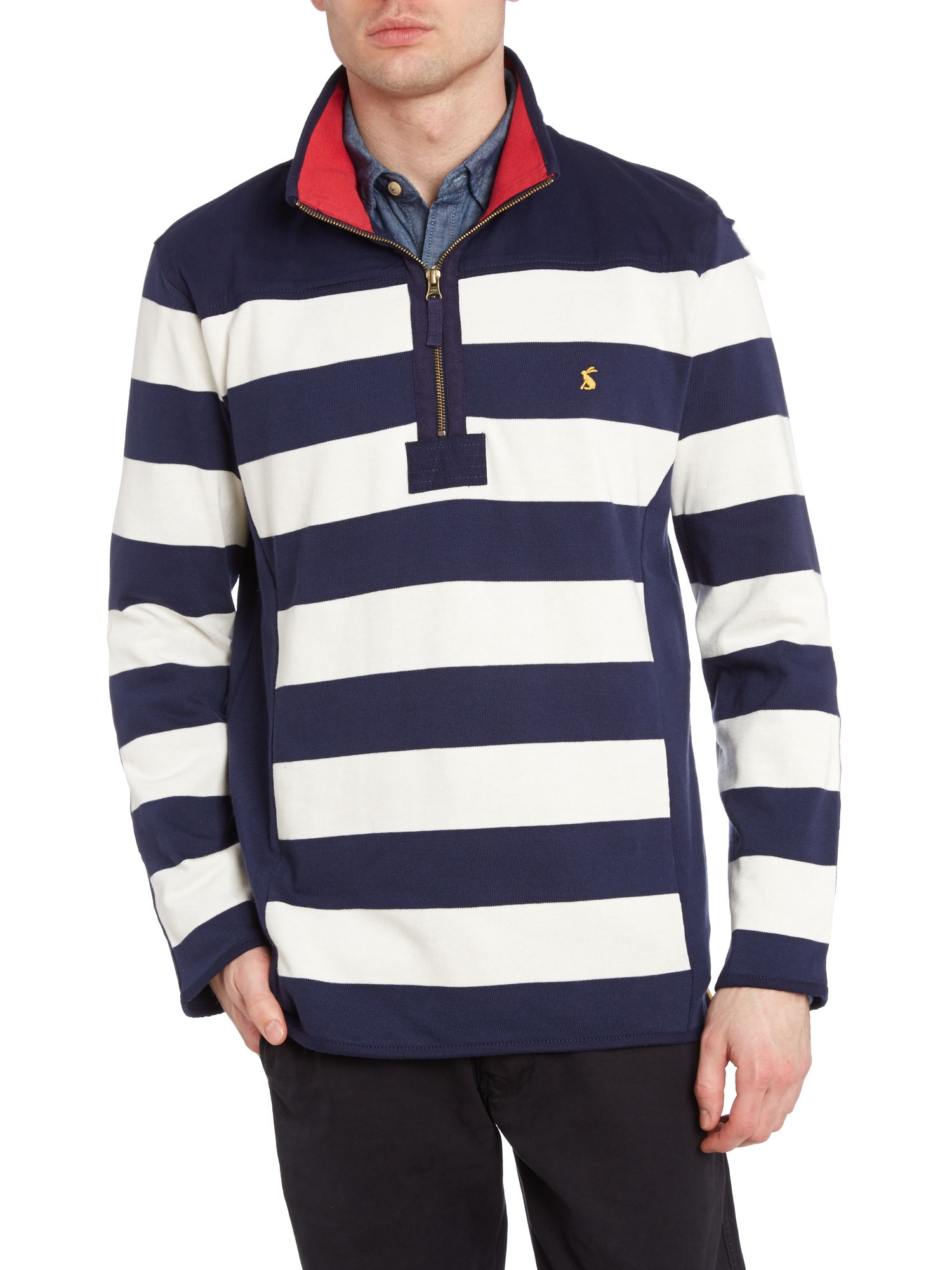 Templetonlight half zip sweatshirt