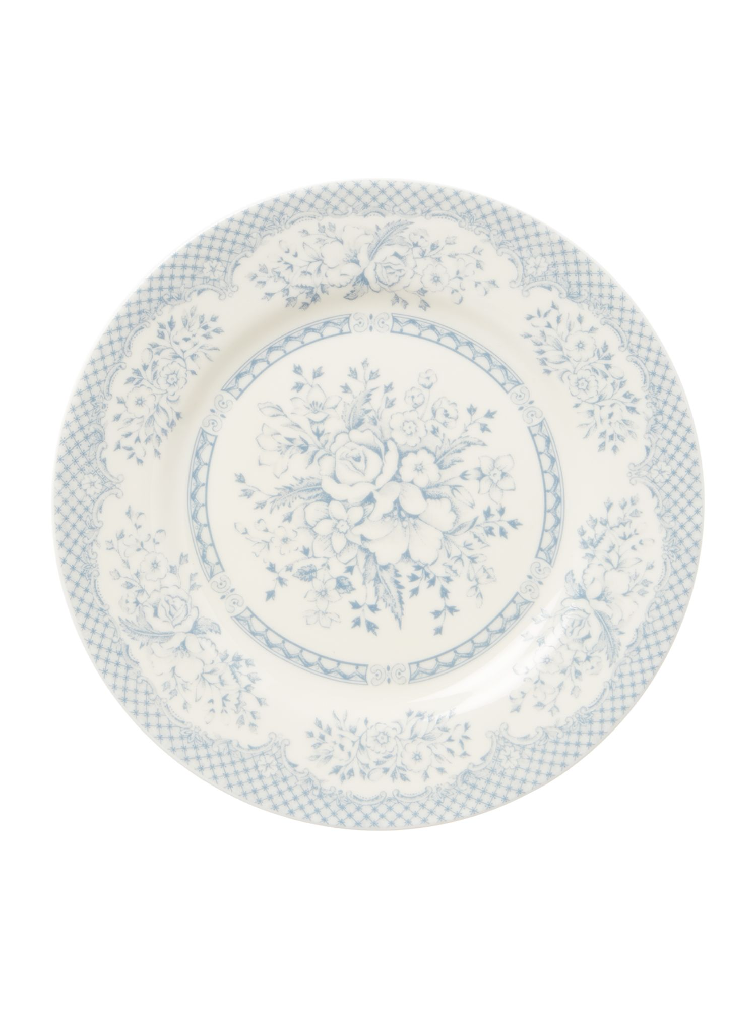 Kew blue side plate