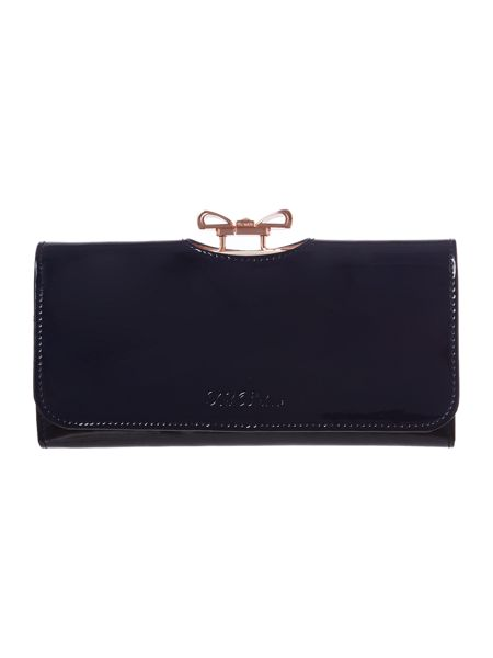 Ted Baker Large navy crystal bobble purse