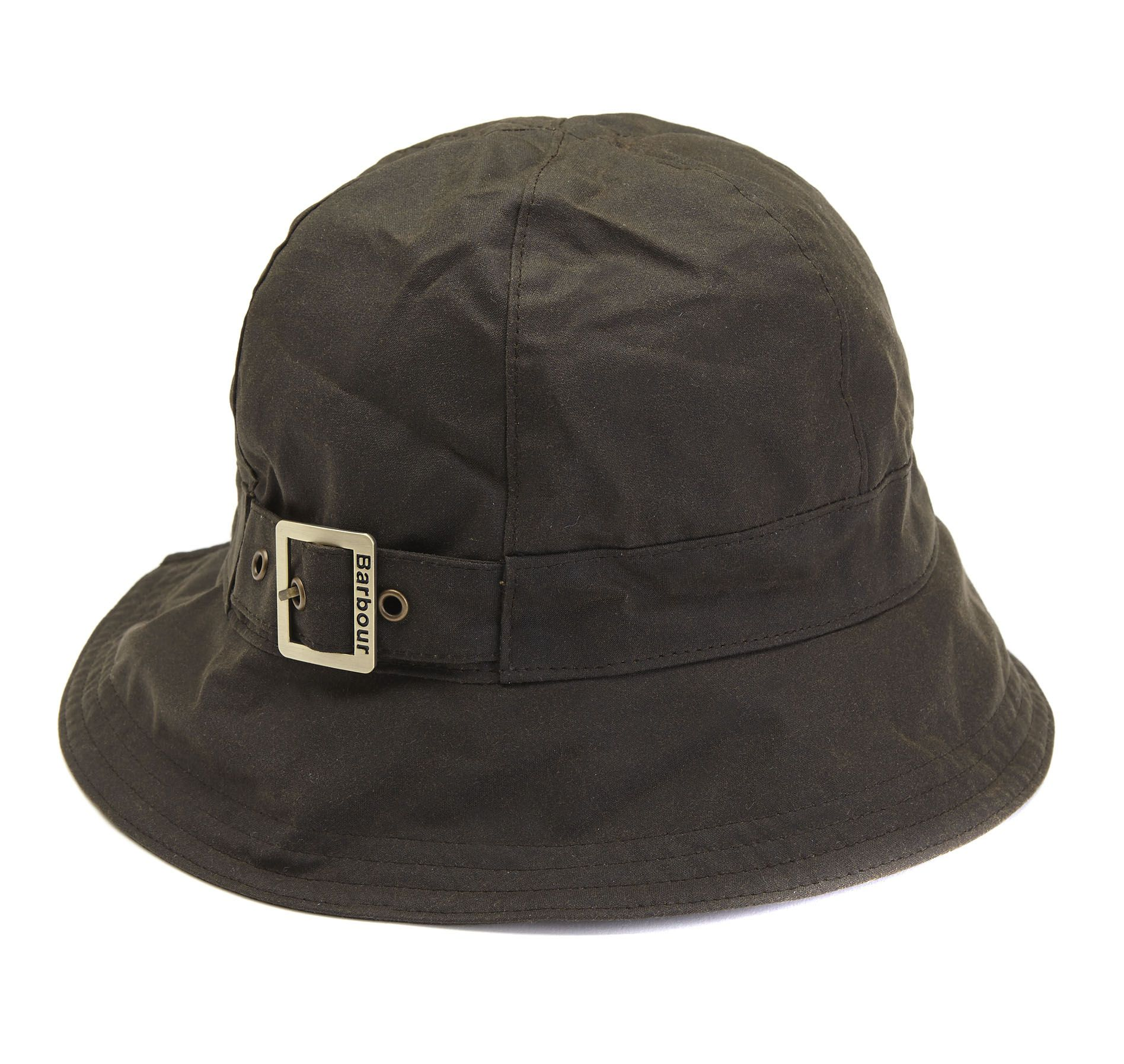 Wax new trench hat