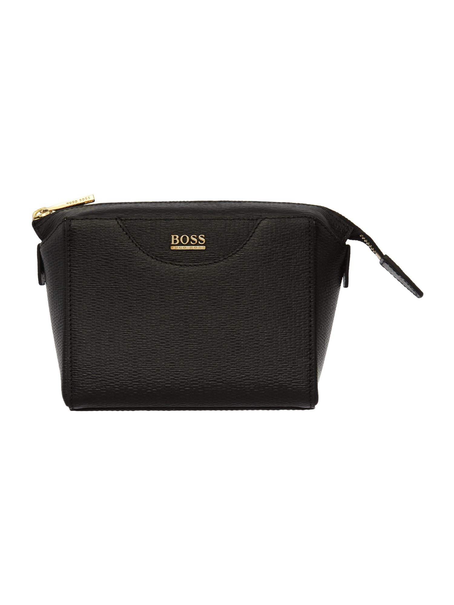 Mosdy black cosmetic bag