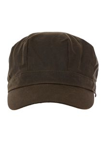 Barbour Wax baker boy hat