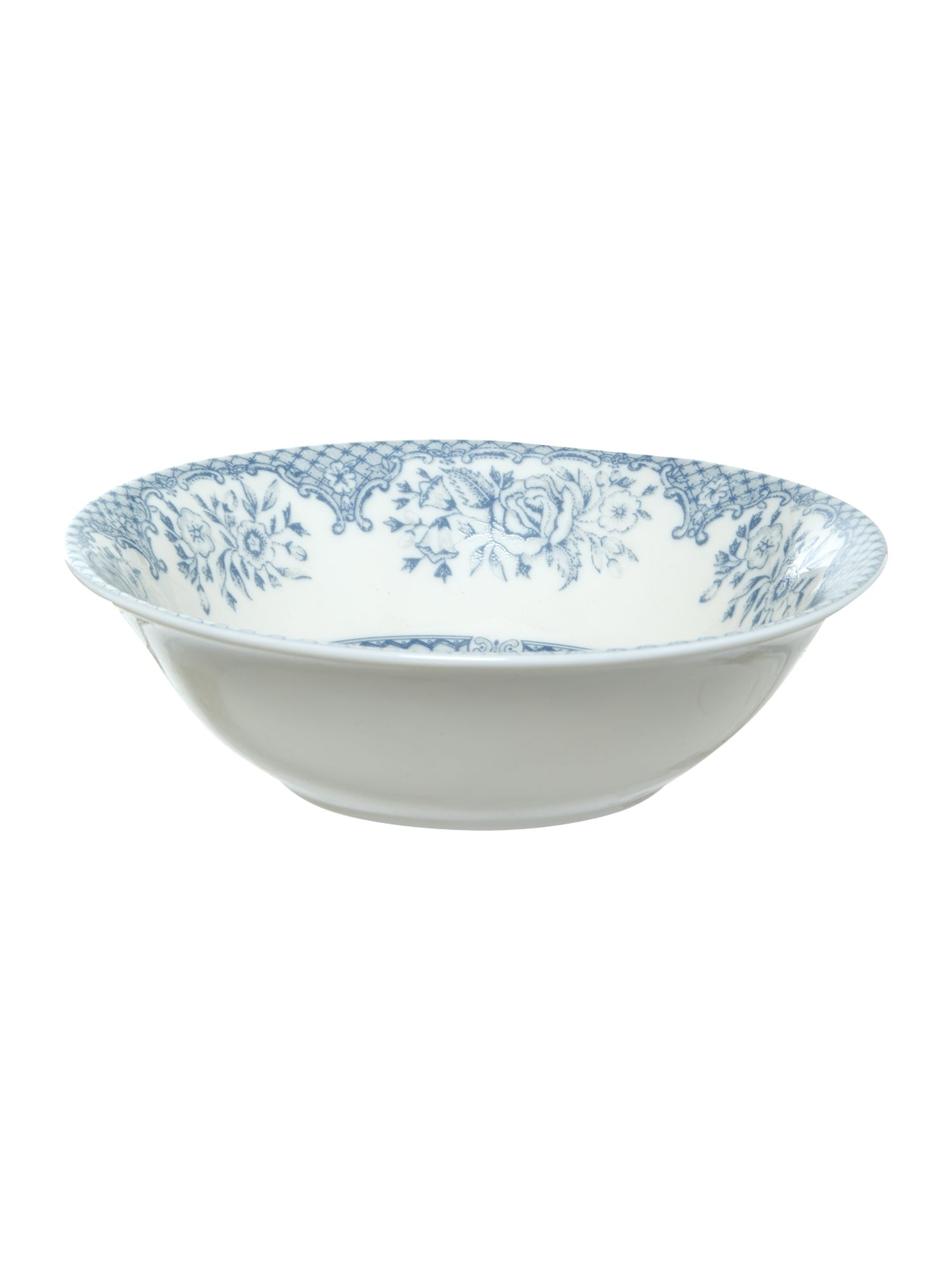 Kew blue cereal bowl