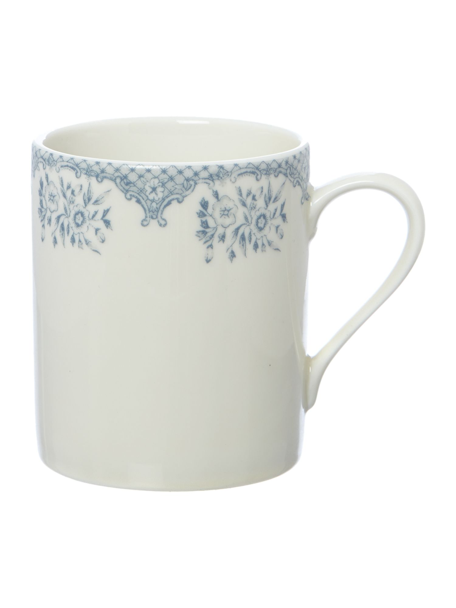 Kew blue large mug