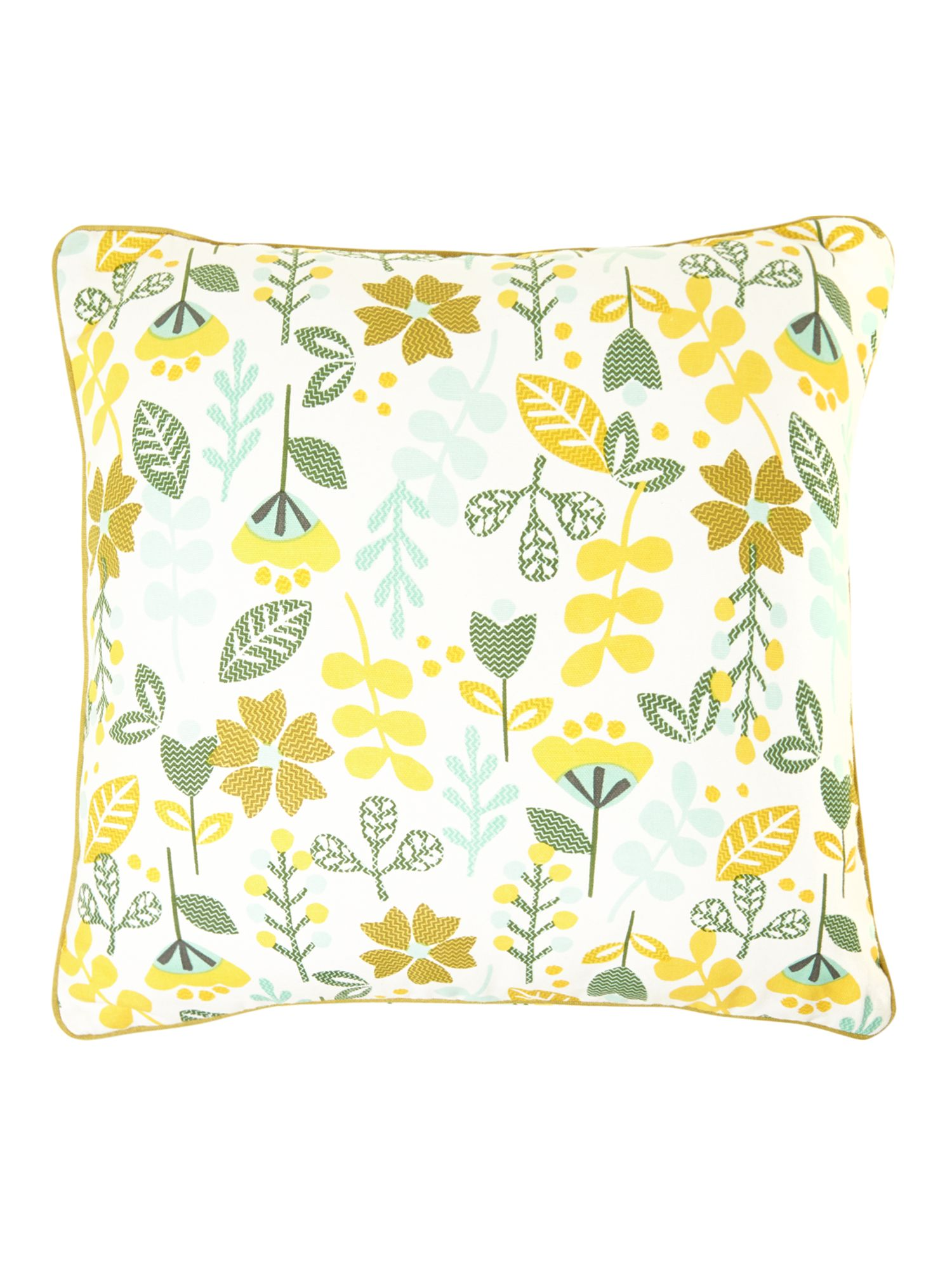 Urban Explorer Leaf print design print cushion