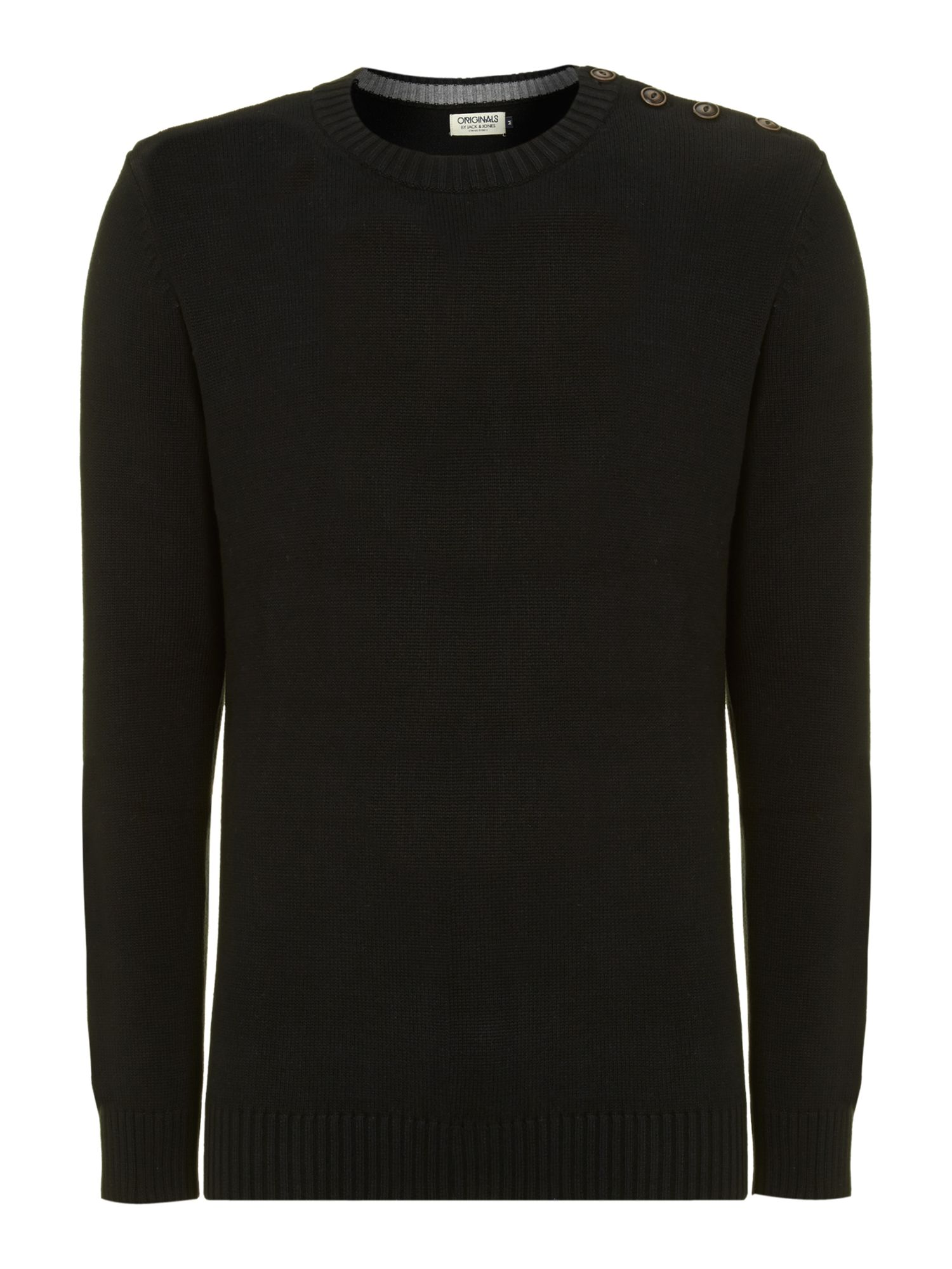 Crew neck long sleeved sweat