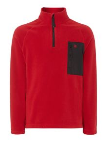 Arnold half zip fleece