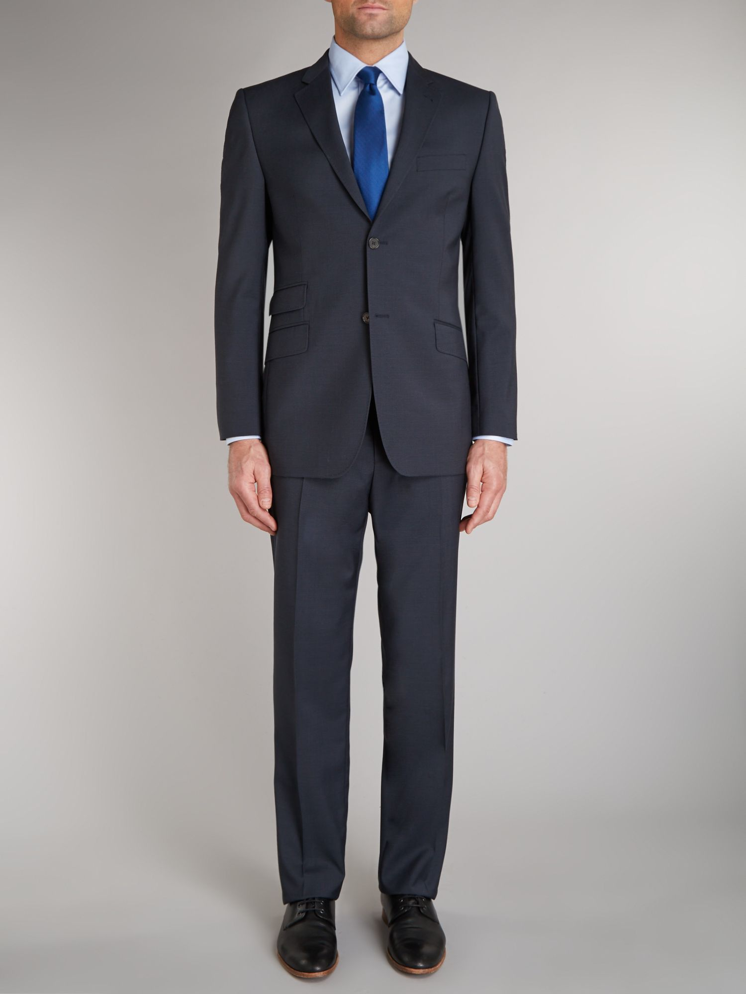 Queendo sterling regular fit textured suit