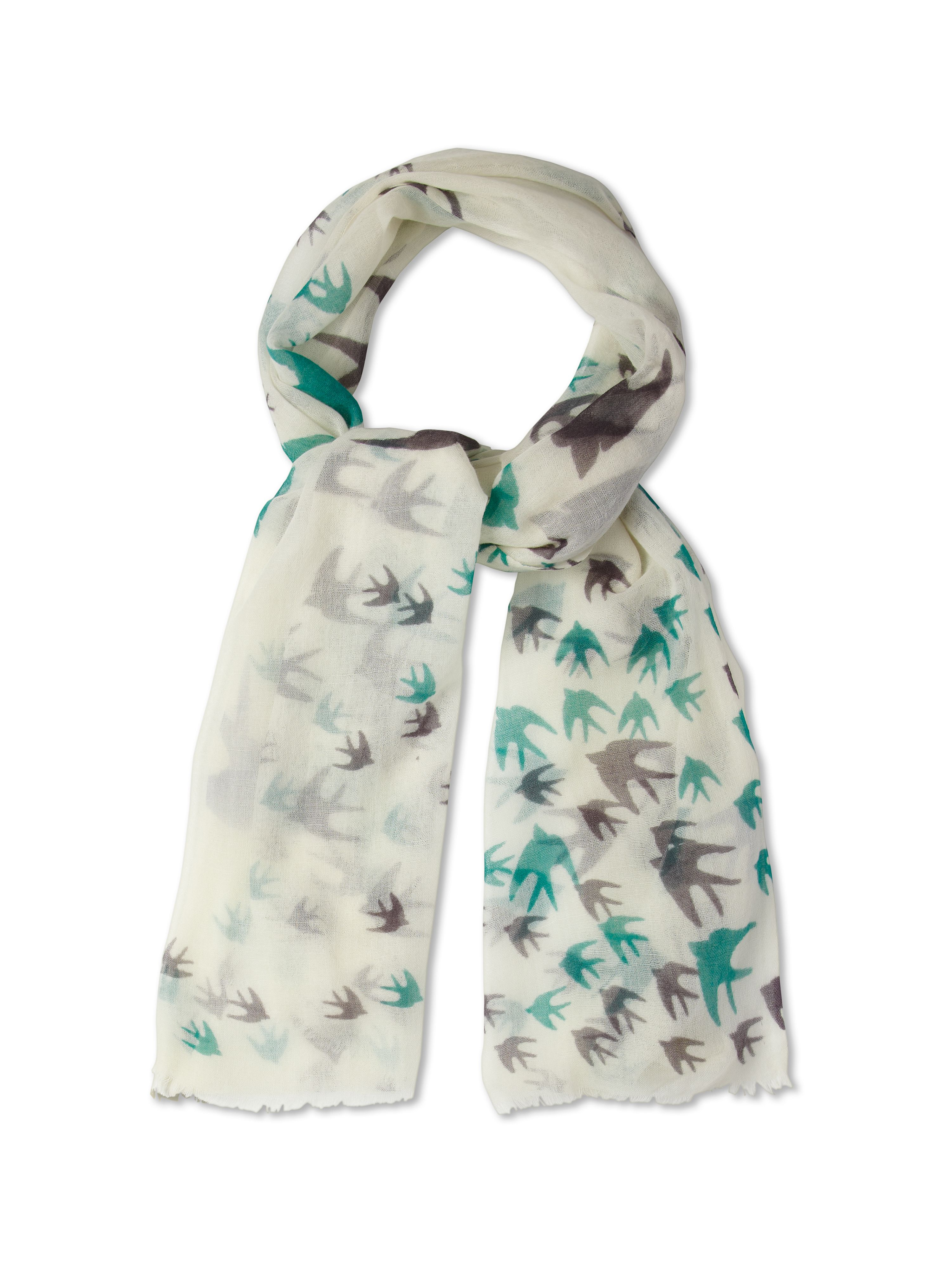 Flock of birds scarf