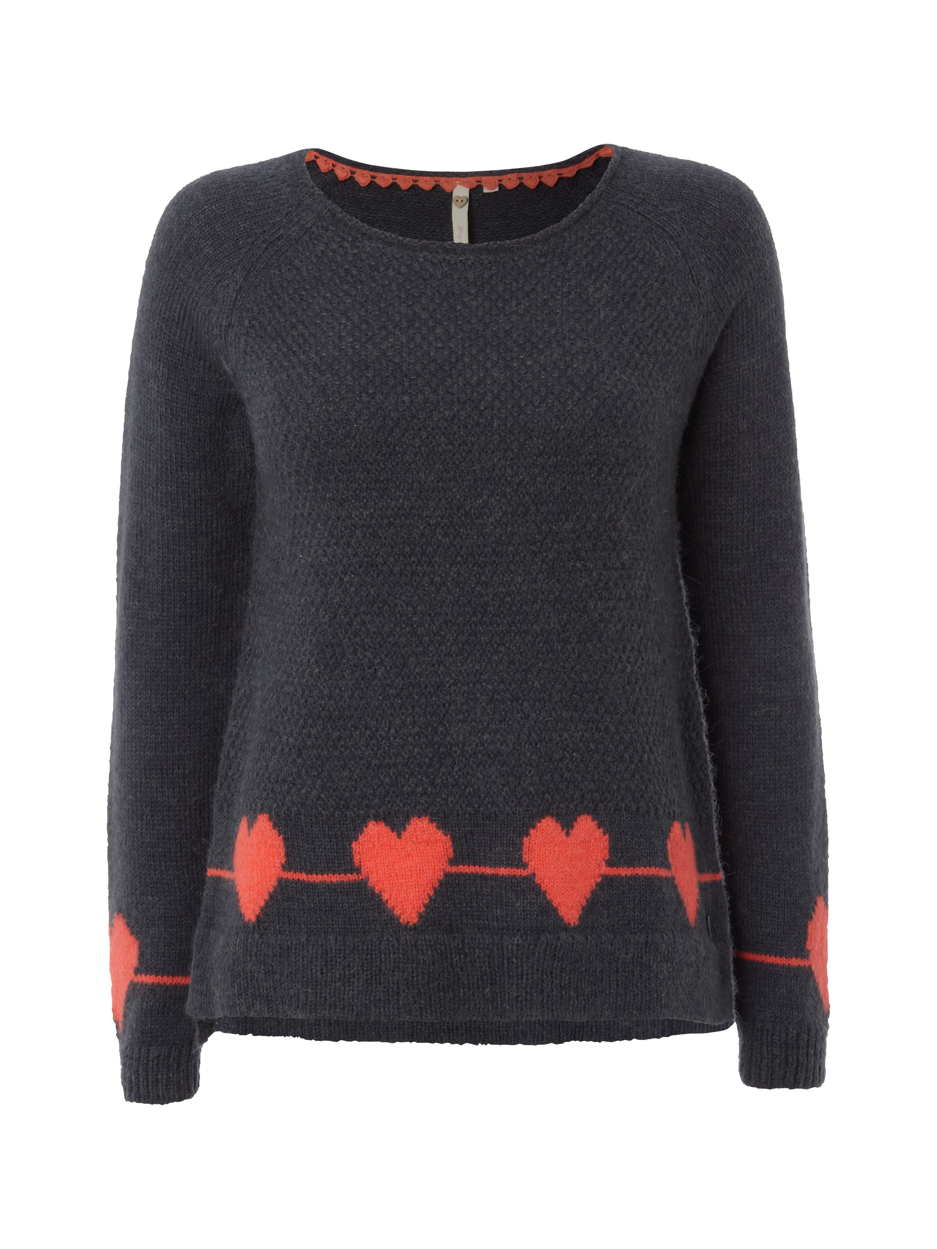 Country heart jumper