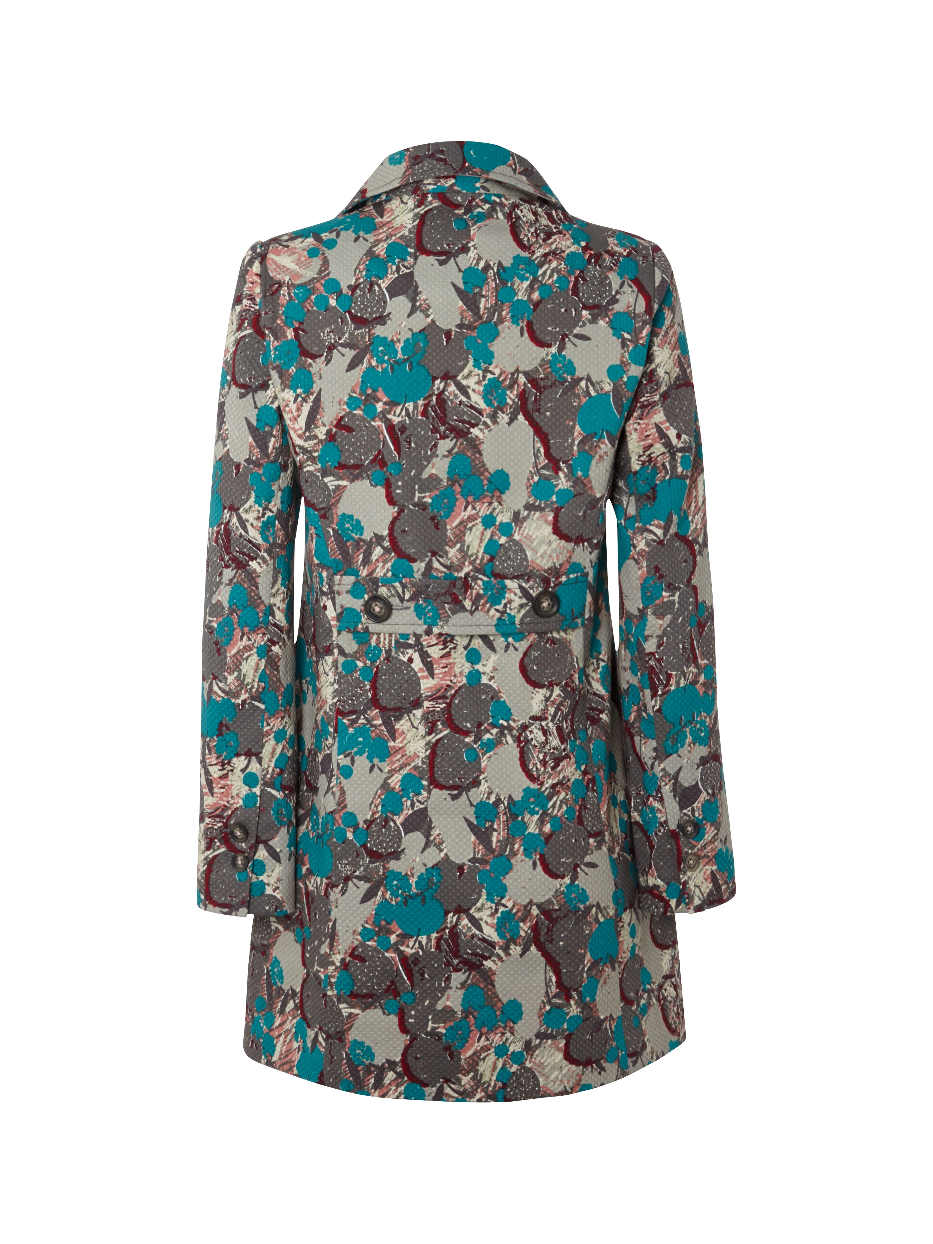 Sweet william printed coat