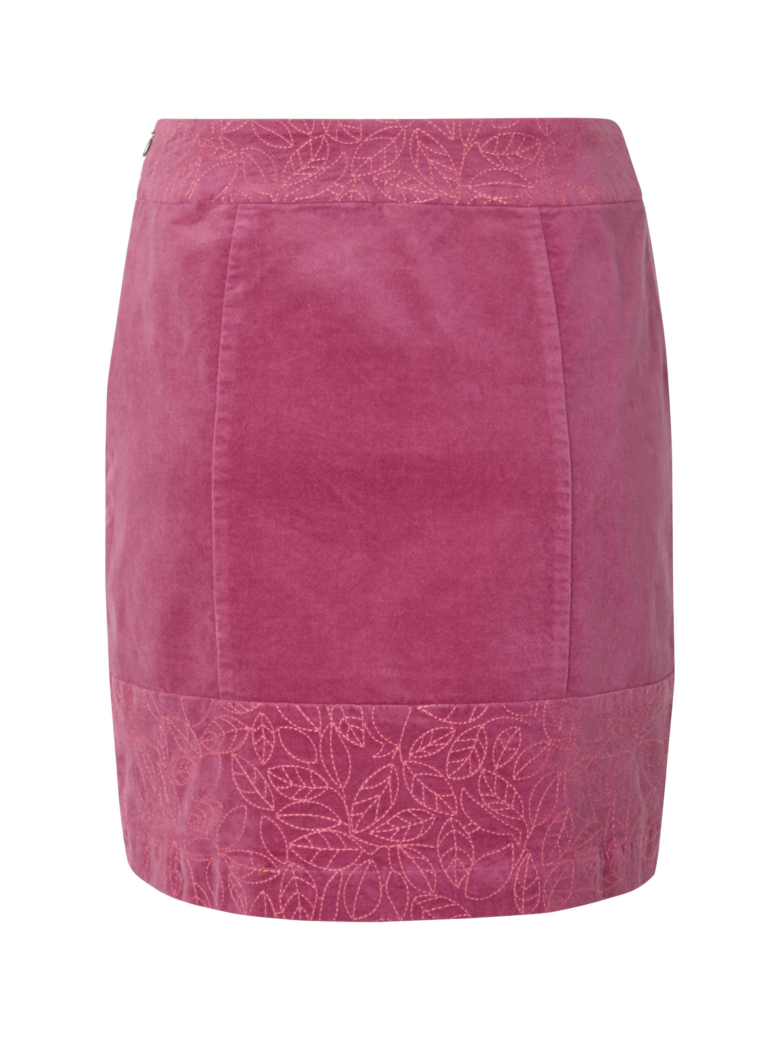 Summers end velvet skirt