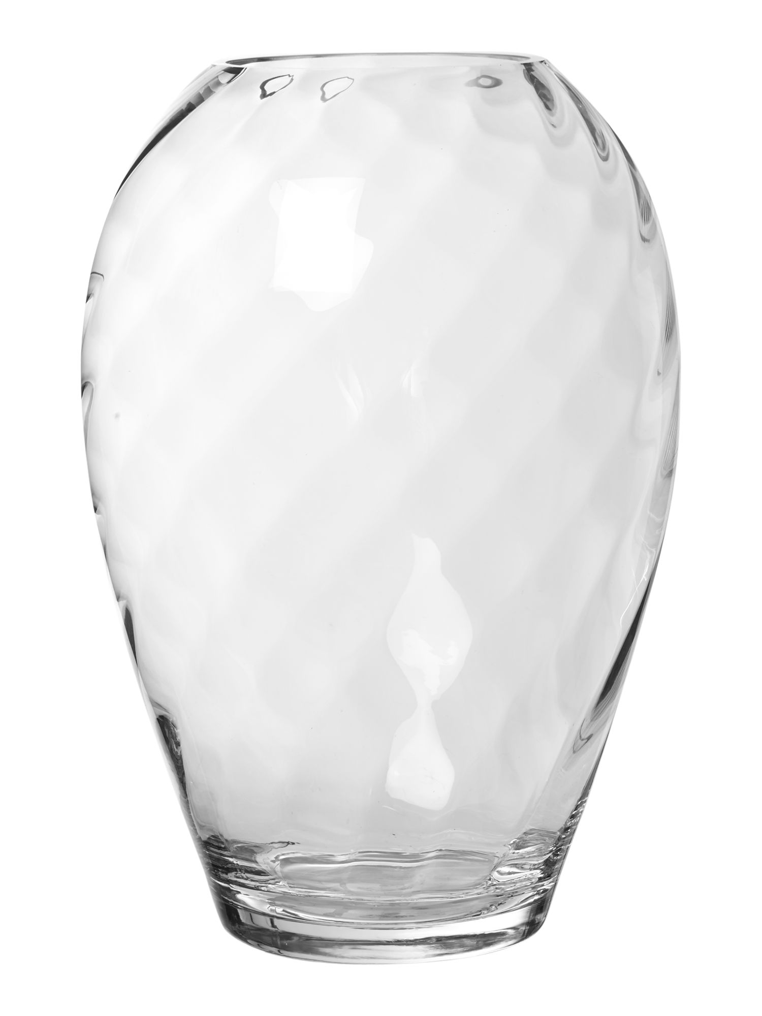 Clear optic small vase