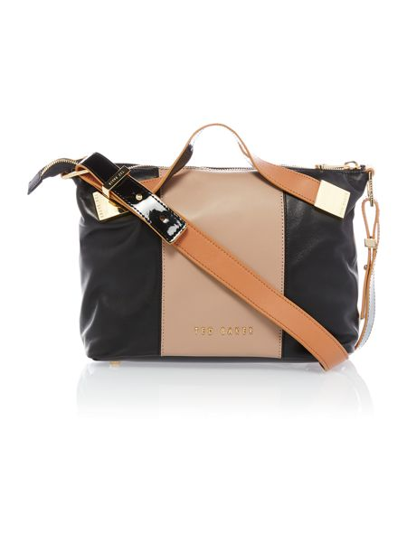 Ted Baker Medium nude and black tote bag