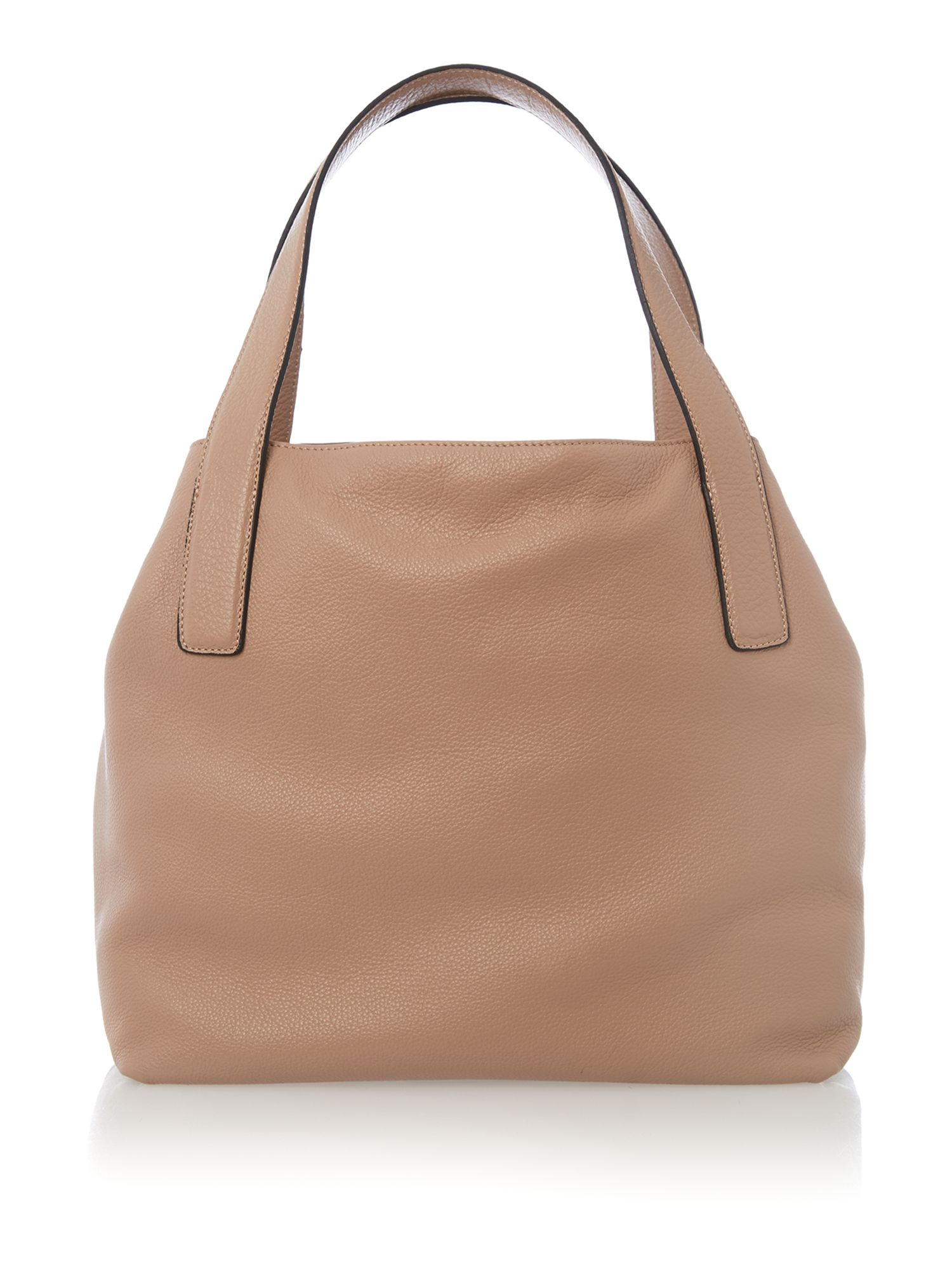 Mila tan small hobo bag