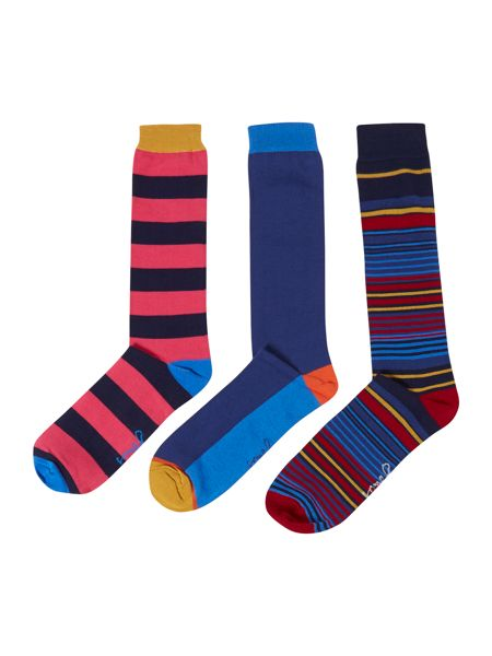 Joules 3 pack brilliant bamboo sock set