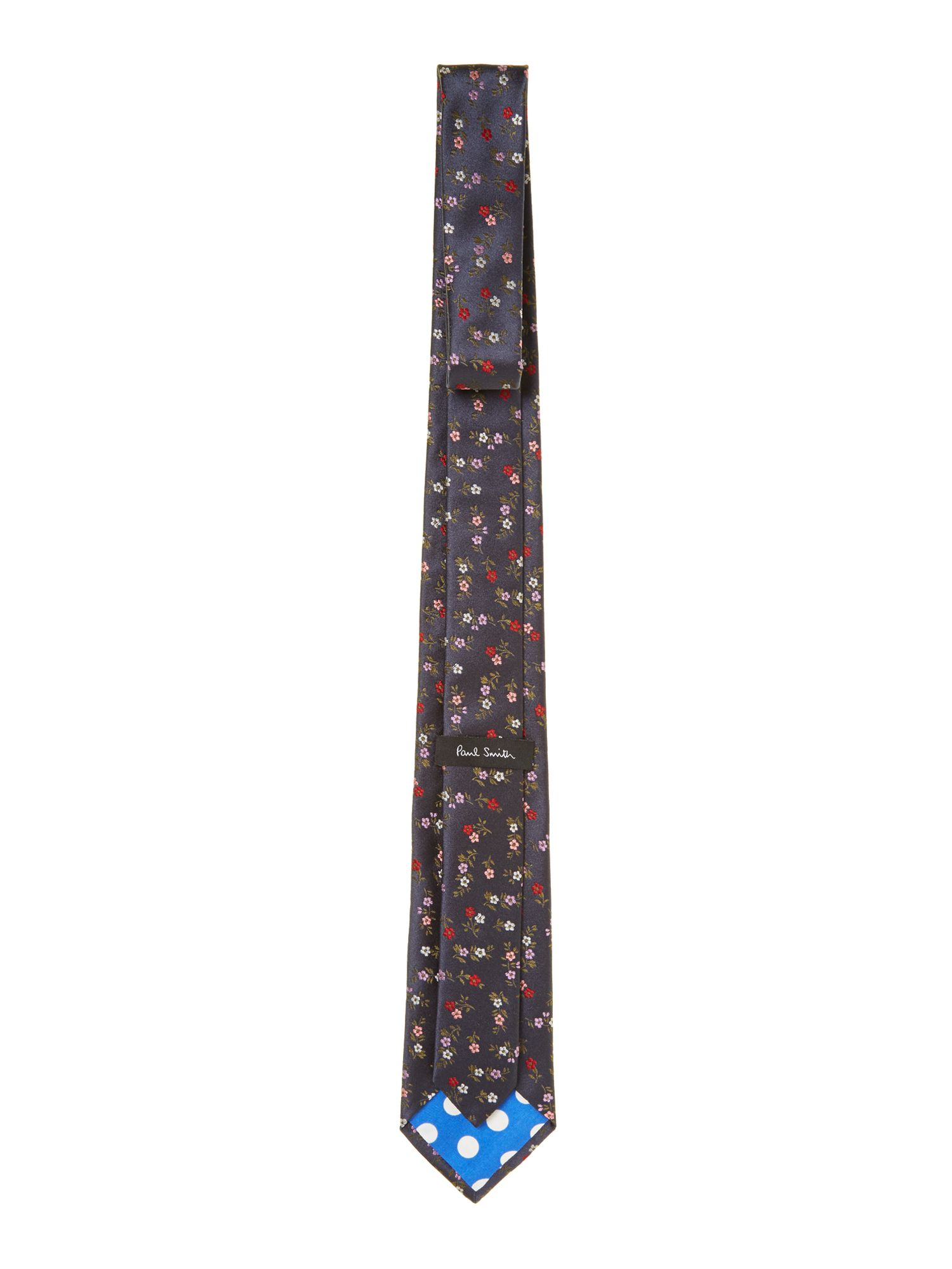 Mini floral regular tie