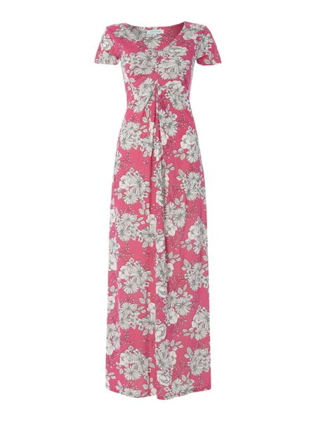 Dickins & Jones Floral short sleeve maxi dress