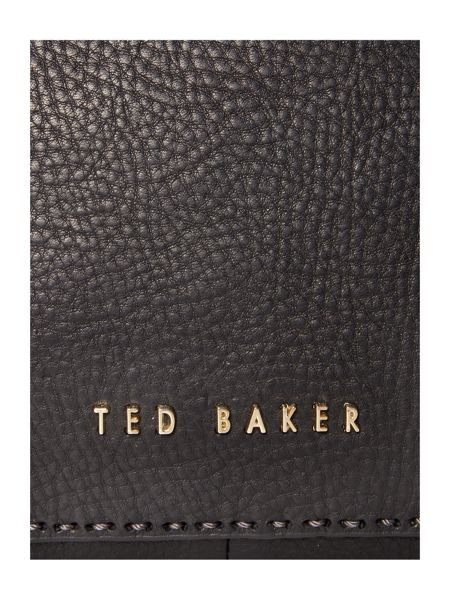 Ted Baker Large black cross body satchel