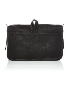 Medium leather cross body bag