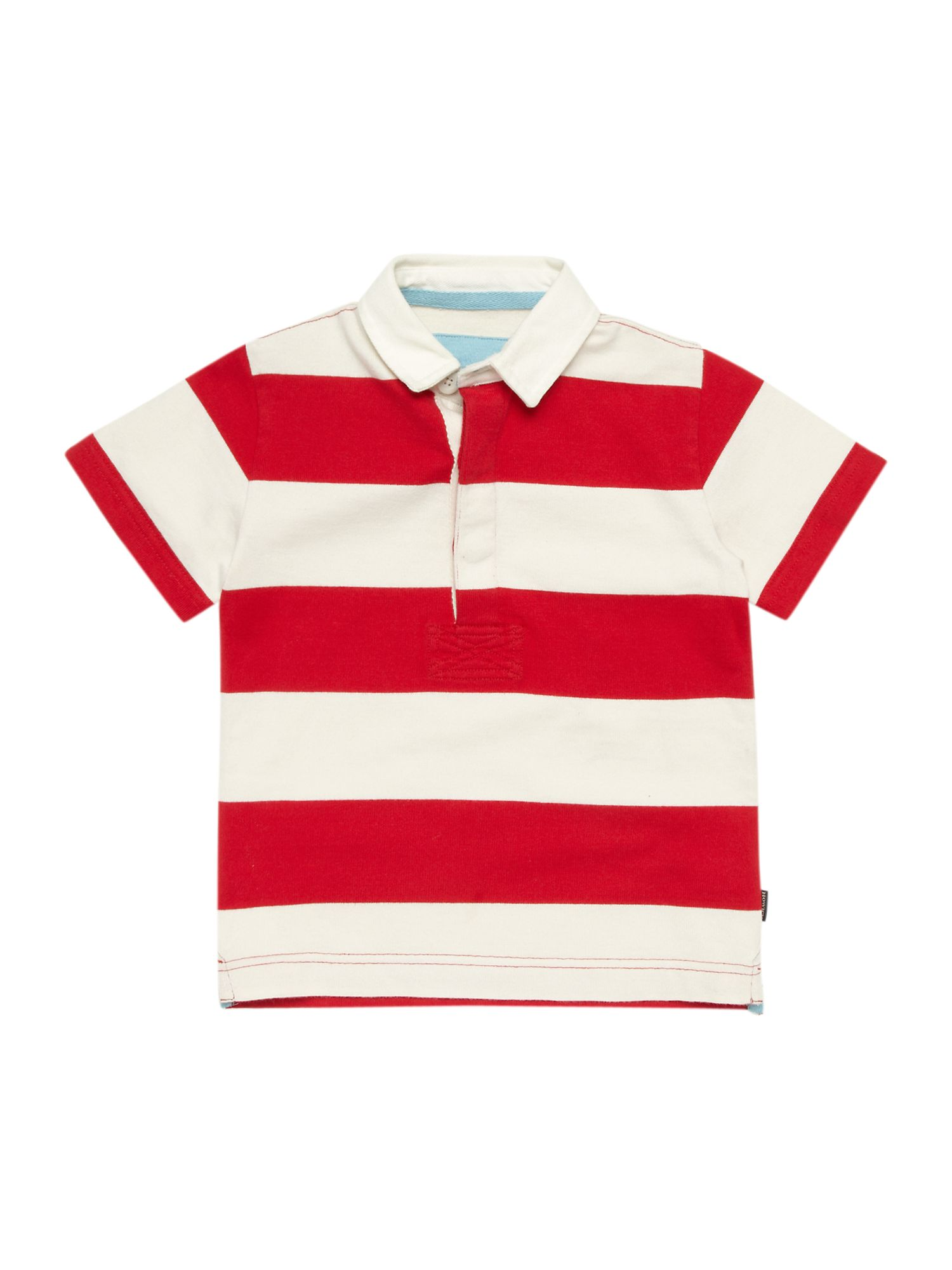 Boy`s stripe rugby shirt
