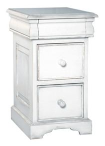 Martine 3 drawer bedside chest