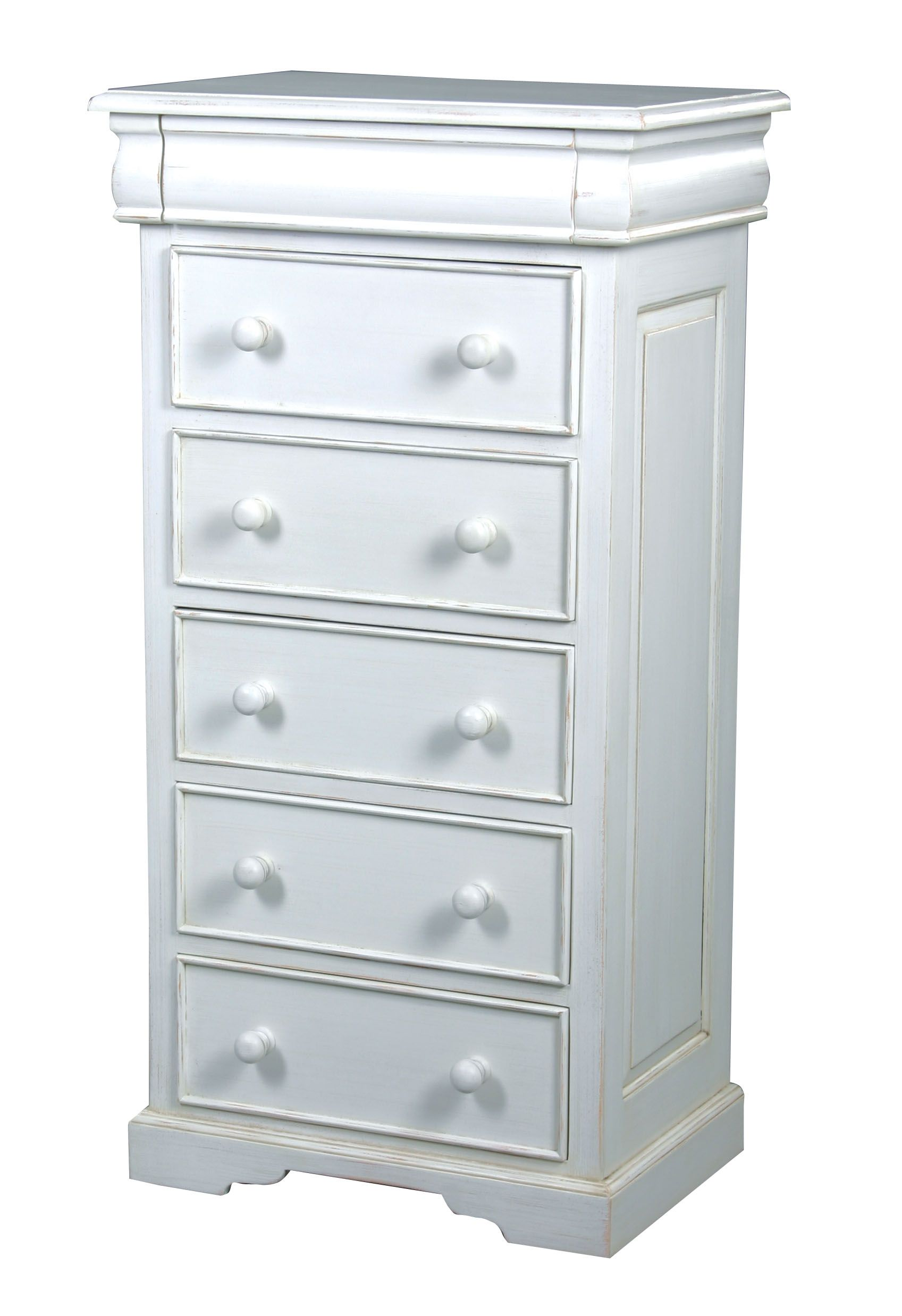 Martine 6 drawer tall chest