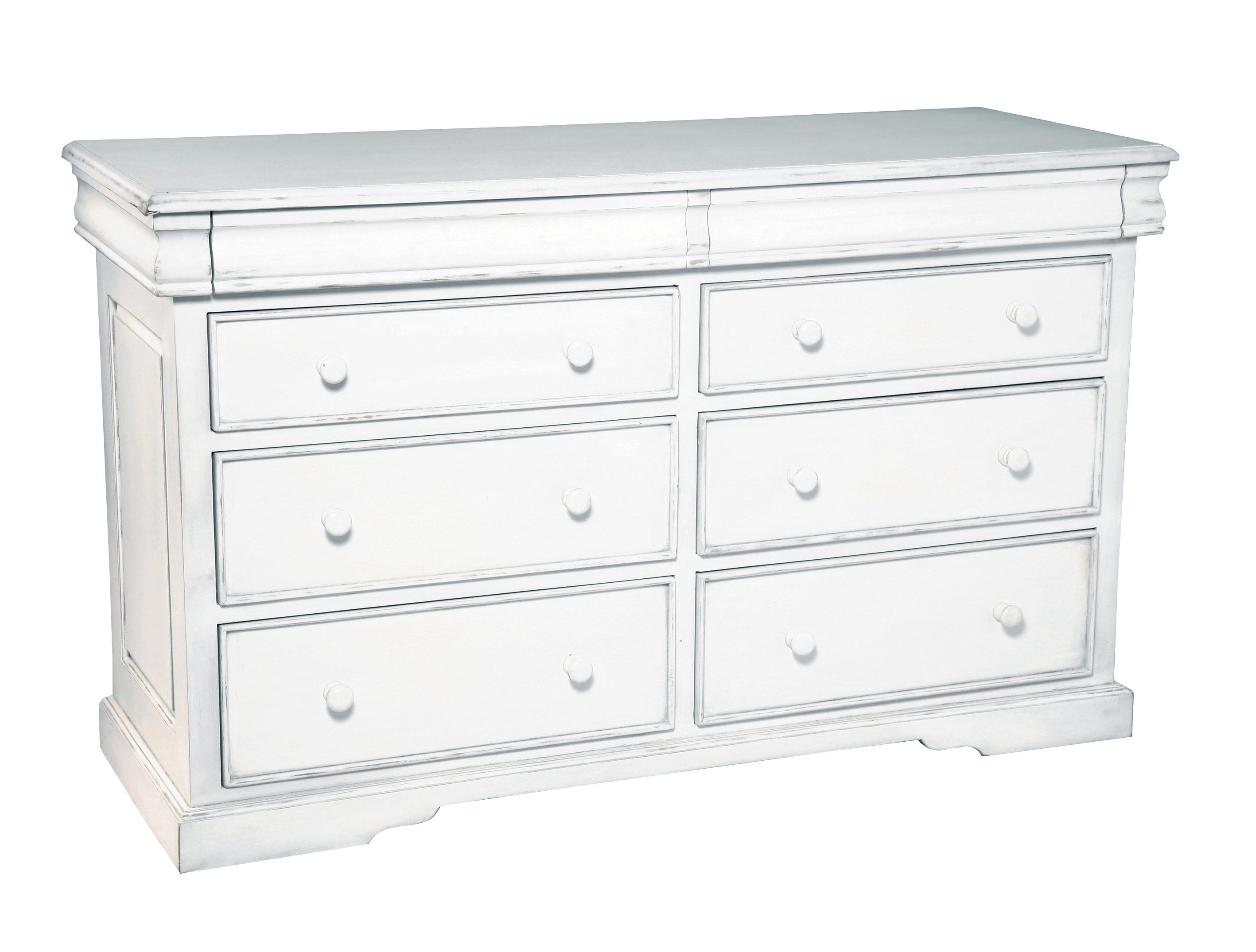 Martine 8 drawer wide chest
