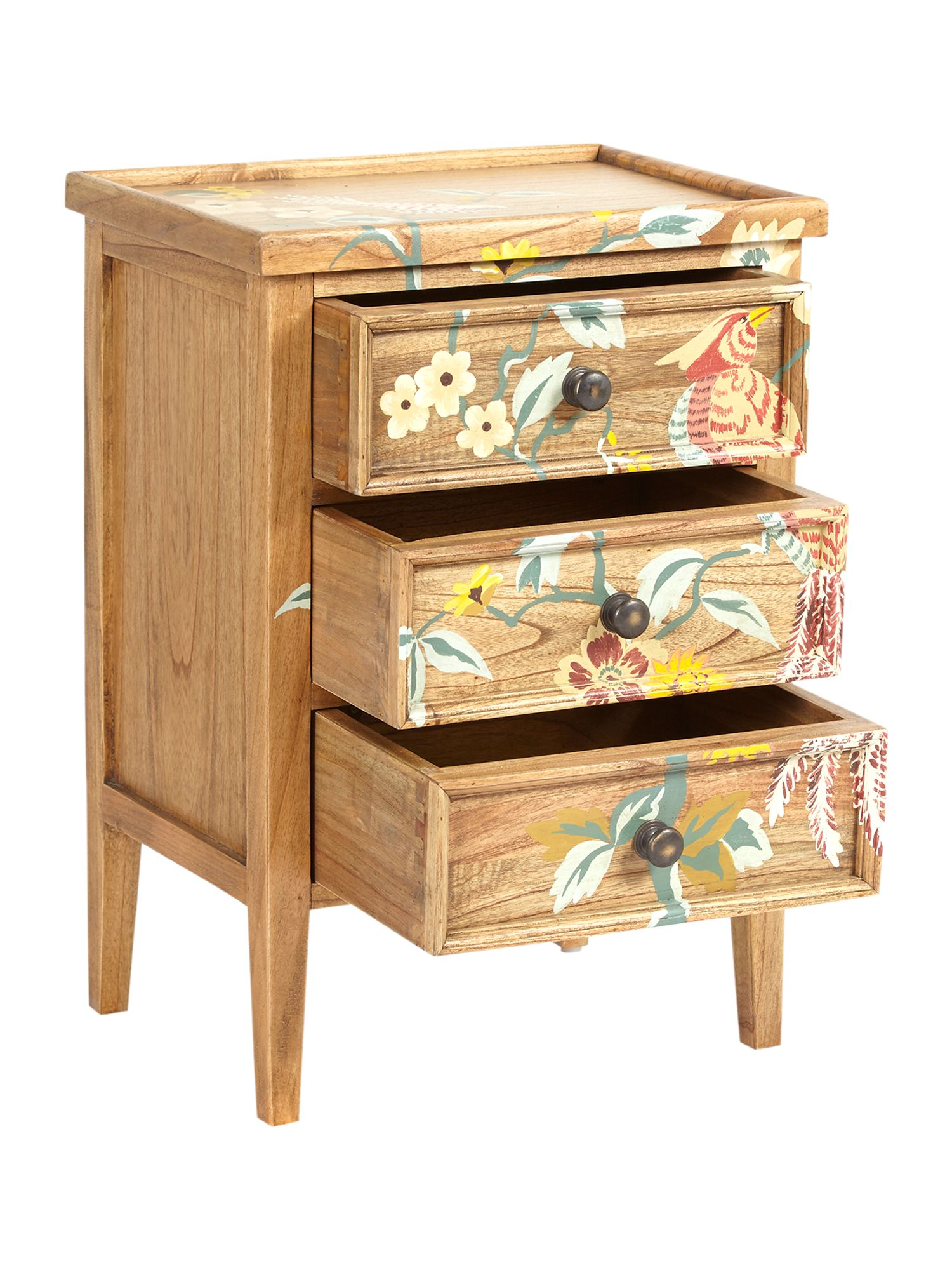 Plume 3 drawer chest