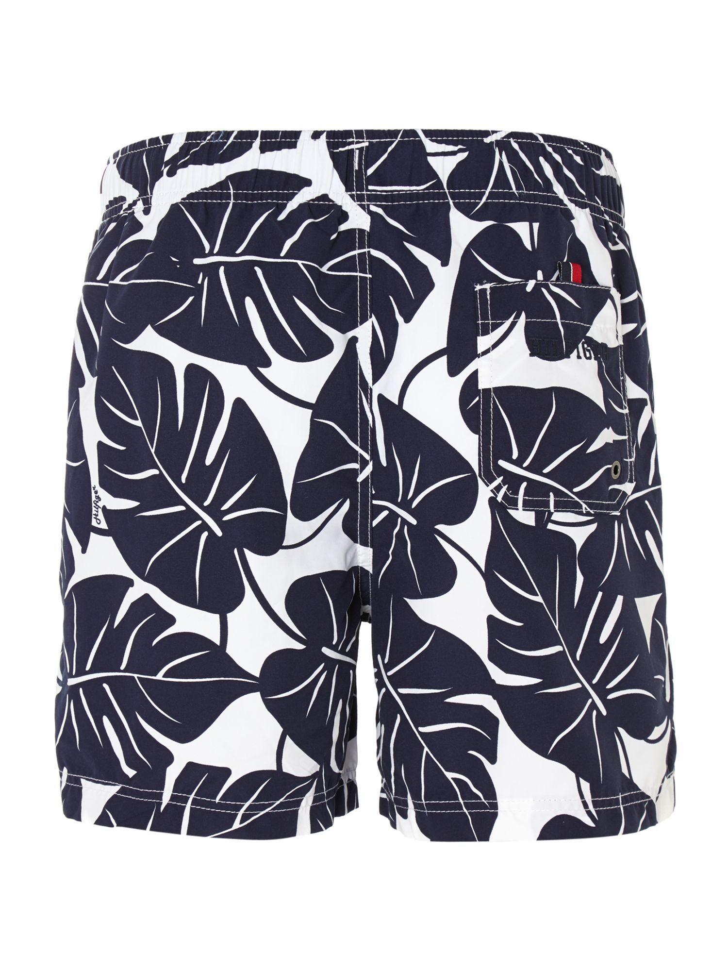 Scott leaves printed swim trunk